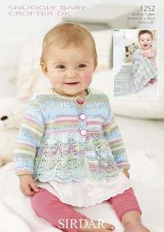Sirdar Snuggly Baby Crofter DK patterns