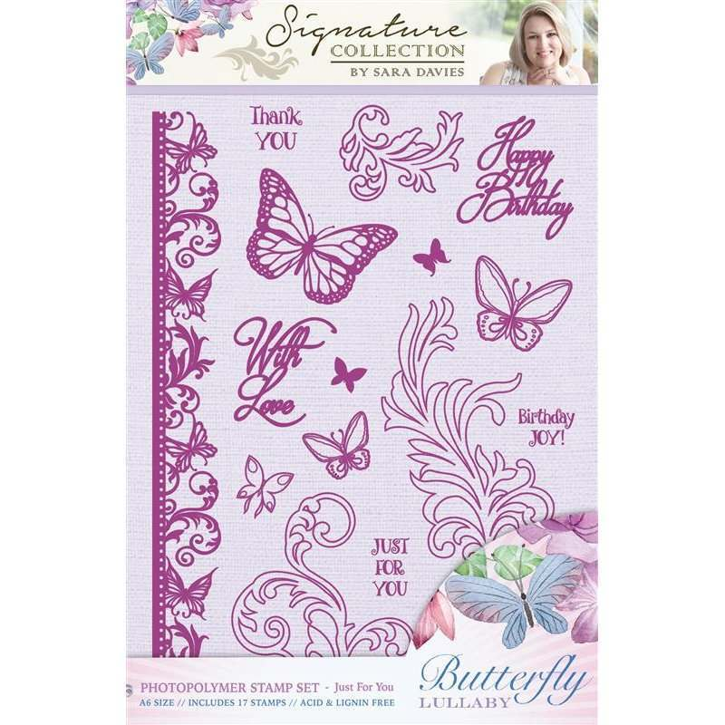Butterfly Lullaby Stamp