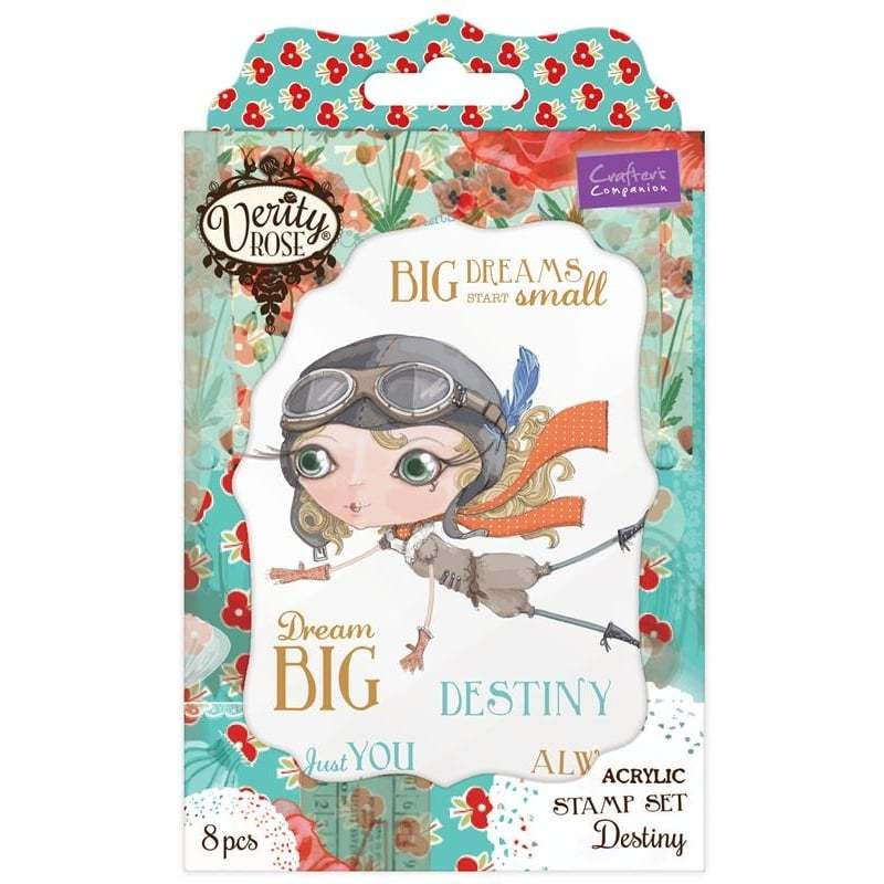 Verity Rose Character Stamps Dies and Folders