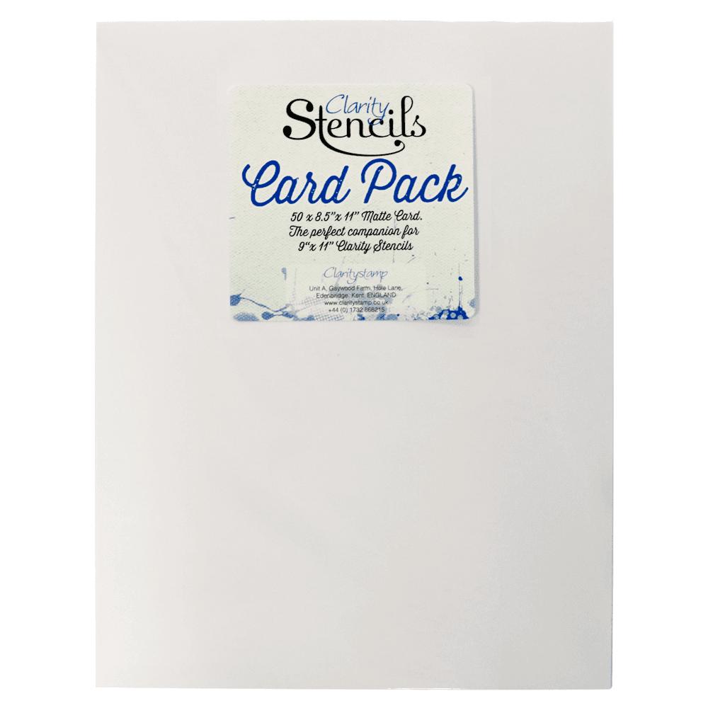 Stencils and Stencil Card