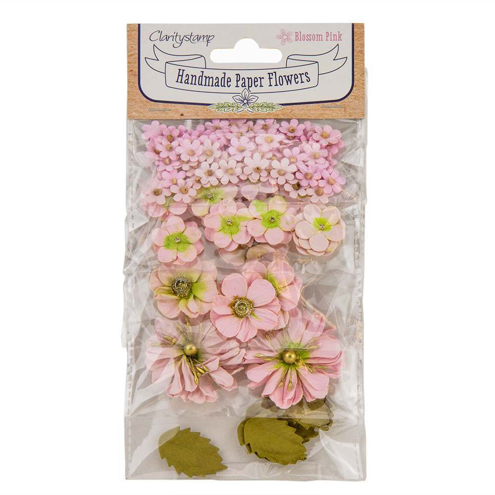 Claritystamp Paper Flowers