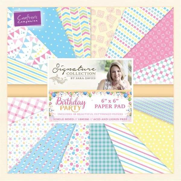 Birthday Party Collection - Papercrafting Elements