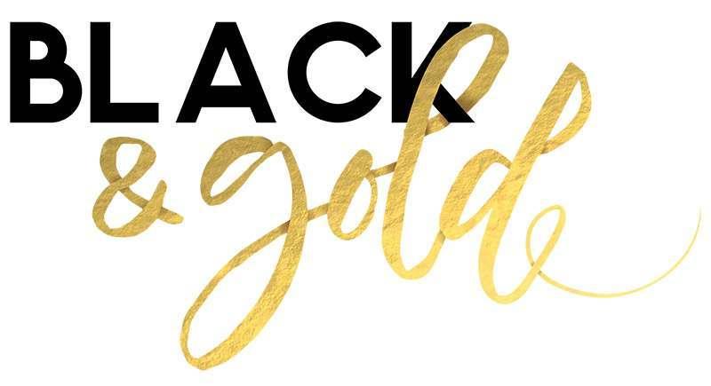 Sara Signature - Black and Gold