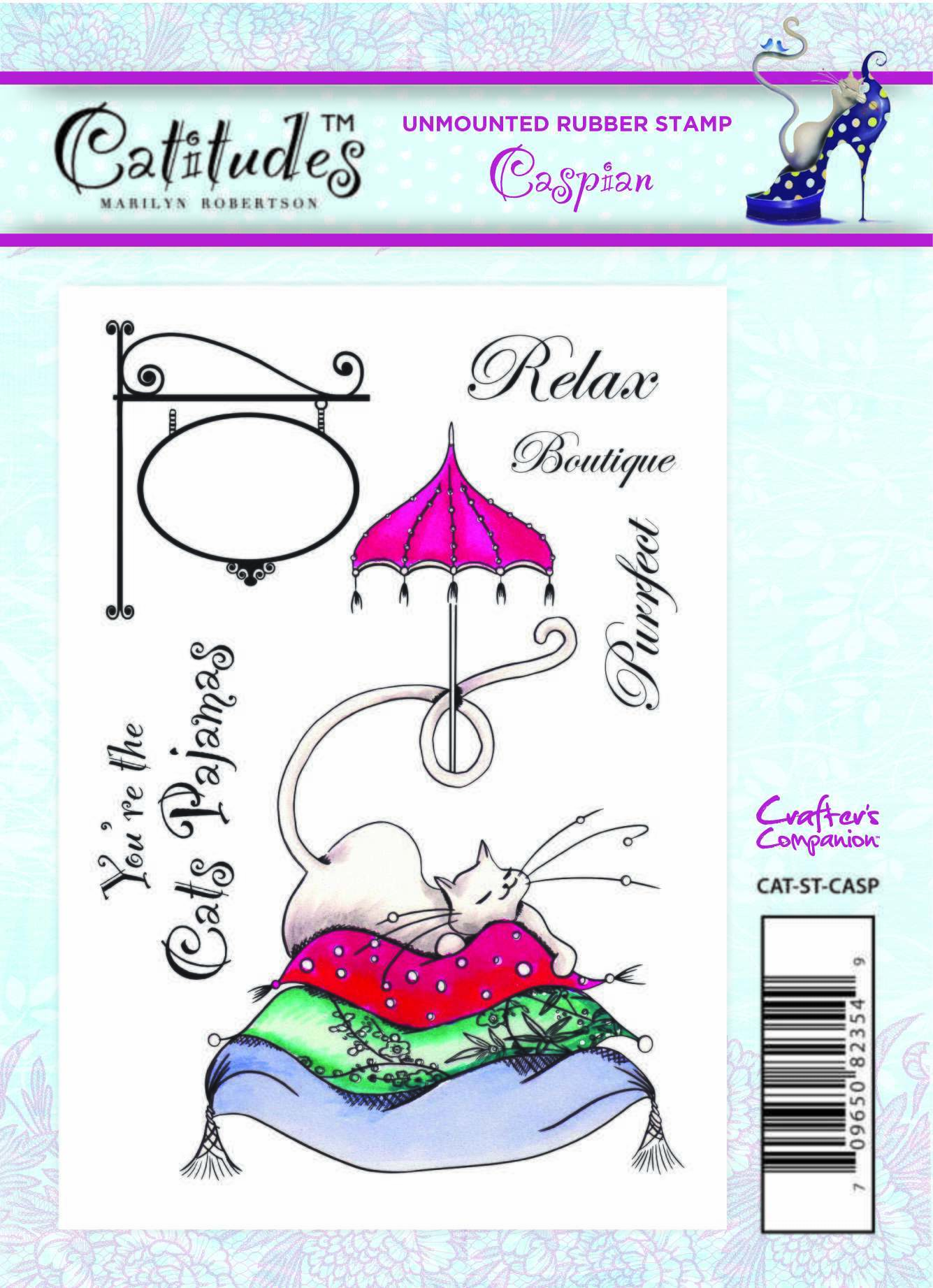 Catitudes Rubber Stamps