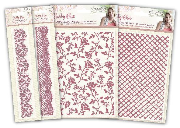 Sara Signature - Shabby Chic Embossing Folders
