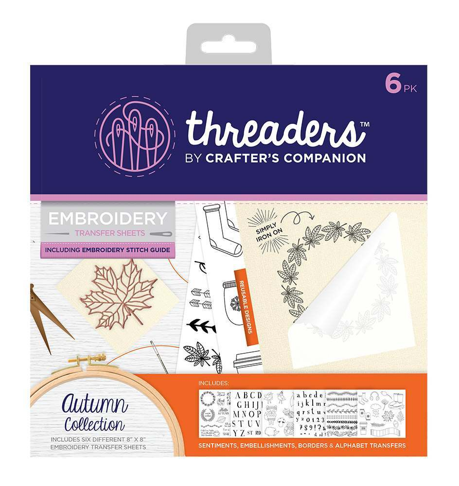 Embroidery Transfers