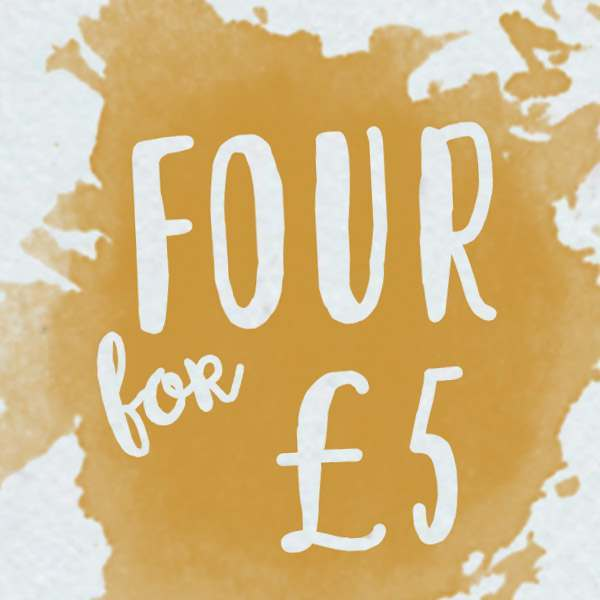 4 for £5