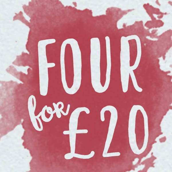 4 for £20