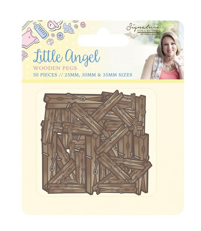 Sara Signature - Little Angel Papercrafting Elements