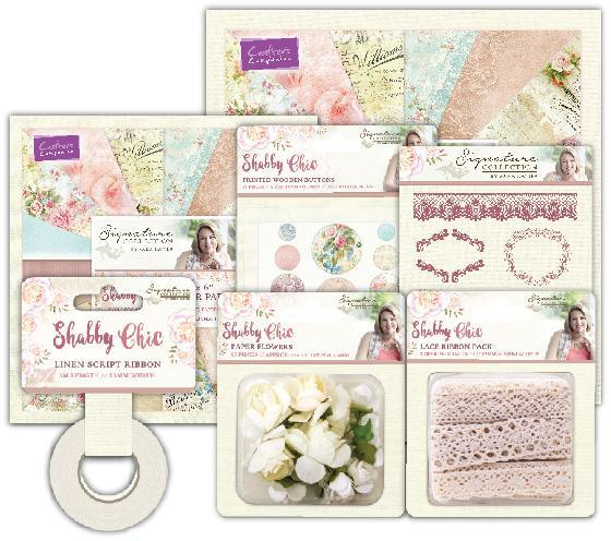 Sara Signature - Shabby Chic Papercrafting Elements