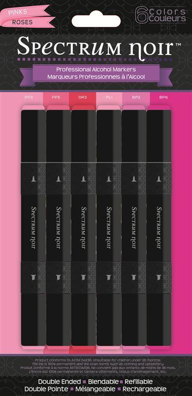 Spectrum Noir 6 pen sets