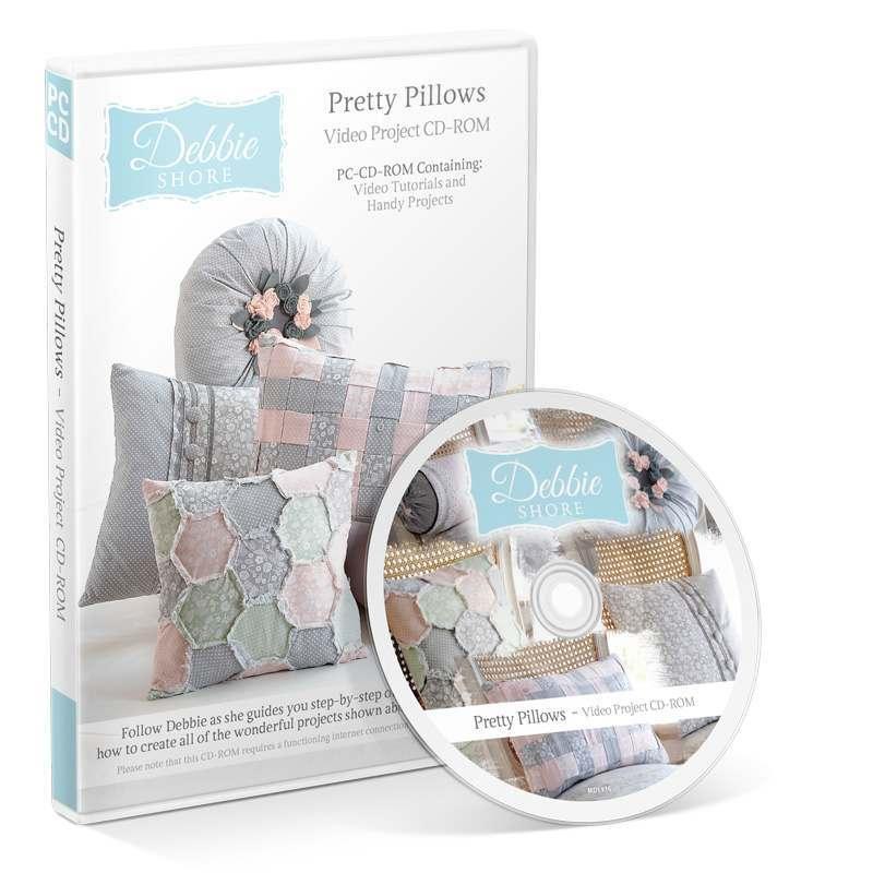 Debbie Shore Pretty Pillows CD-ROM