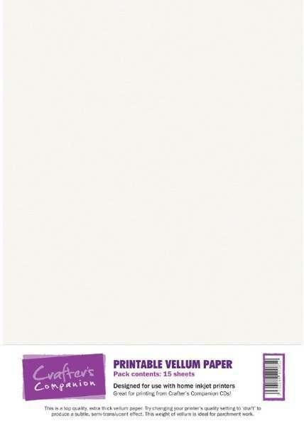 Luxury Card, Vellum & Acetate