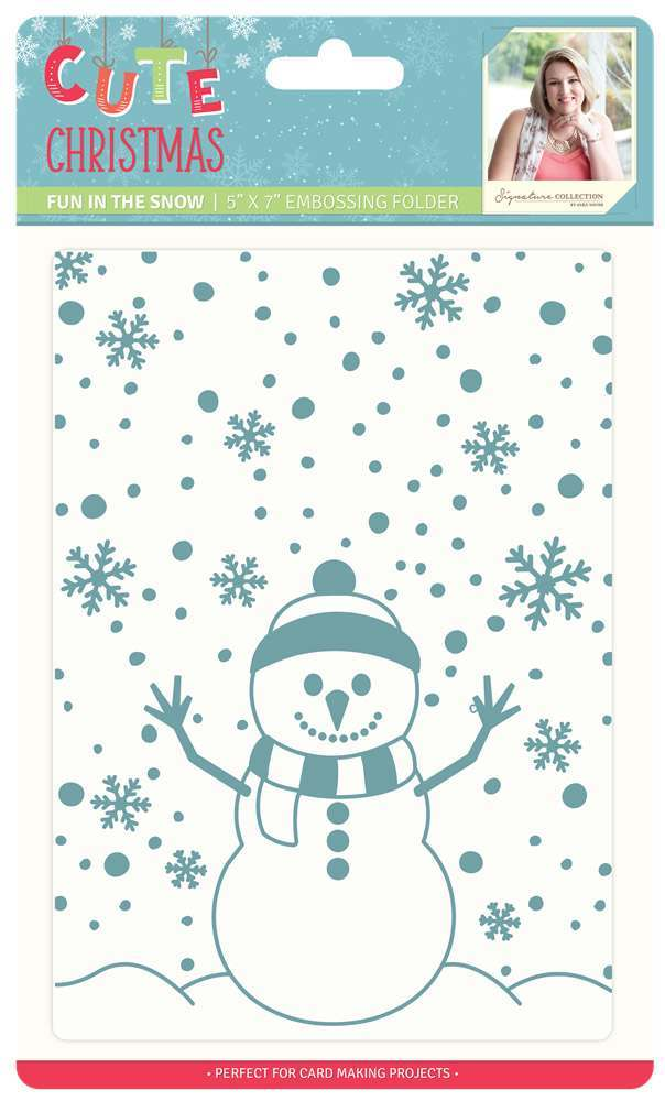 Cute Christmas - Embossing Folders