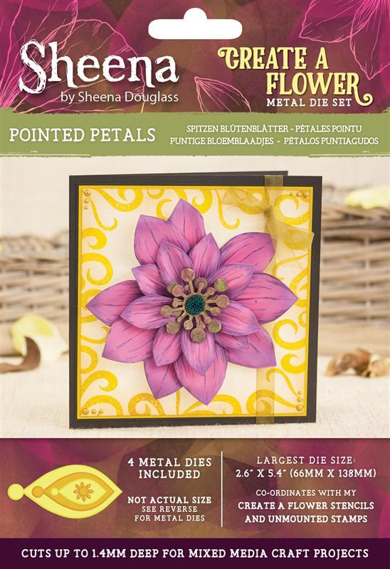 Sheena Douglass Create a Flower - Dies