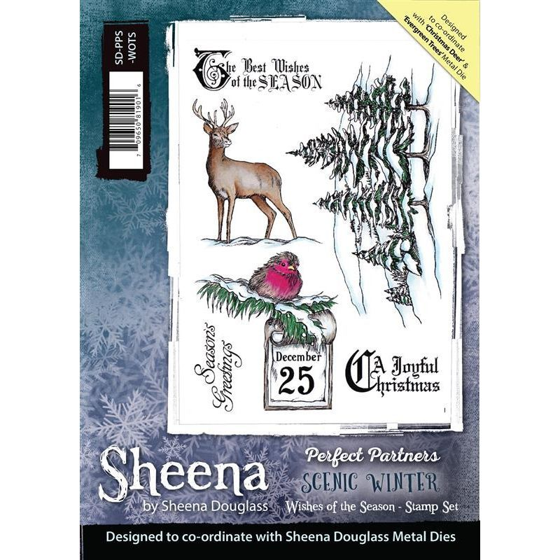 Scenic Winter Stamps 3 for 2
