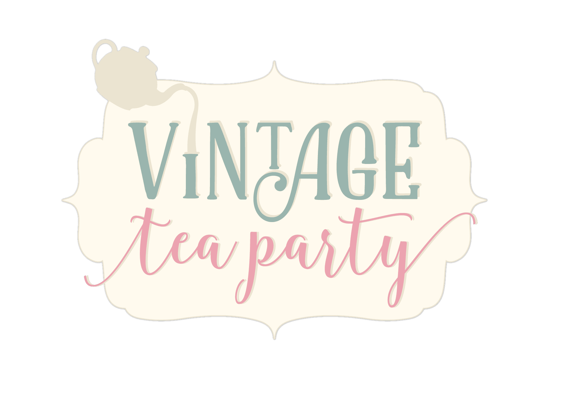 Sara Signature - Vintage Tea Party