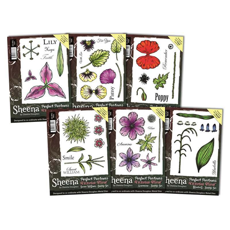 Victorian Floral Stamps 3 for 2