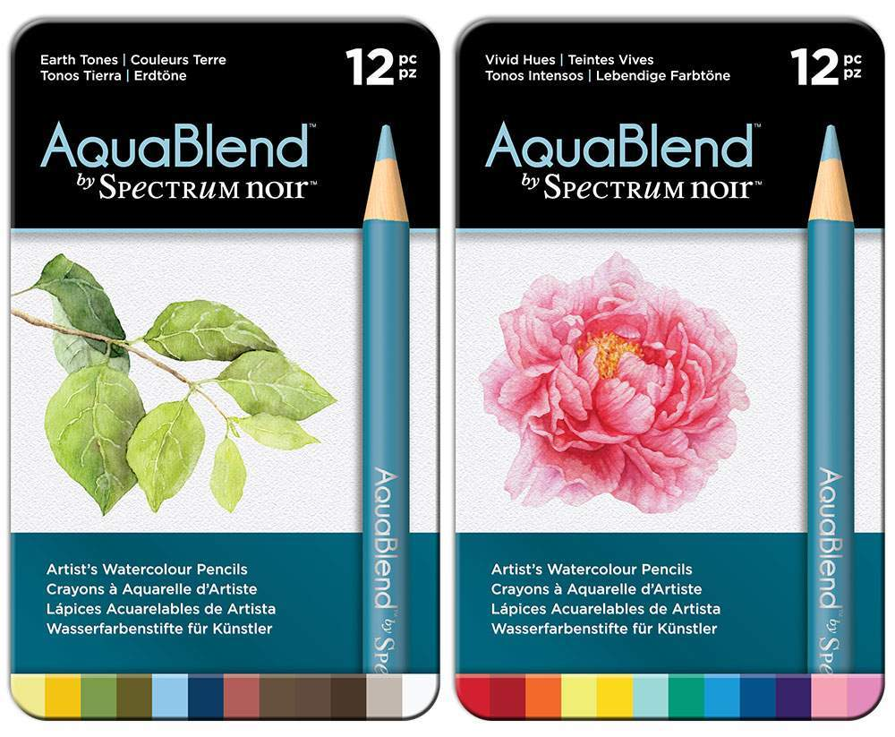 AquaBlend Pencils - Sets of 12