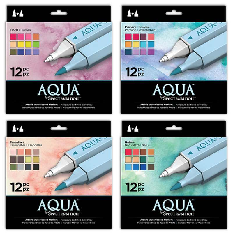 Aqua Watercolour Markers