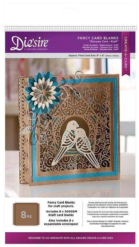 Die'sire Fancy Card Blanks