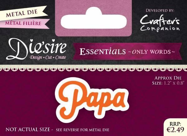 Die'sire Essentials Only Words Dutch