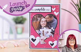 Launch Party - 1st June - Jigsaw Dies, Hunkydory, Reversed Easel Card Kit