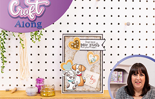 Craft Along - 2nd March - Nitwit Bloom With Grace & Pawsitivity