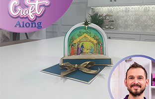 Craft Along - 2nd August - Christmas 3D Scene Builders