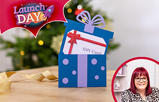 Launch Day - 4th September - NEW Christmas Gift Card Holders