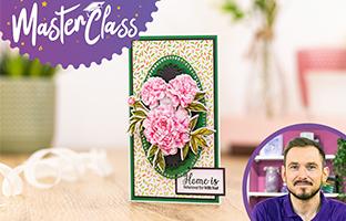 Master Class - 4th Feb -Floral Decoupage with Joe & Craig