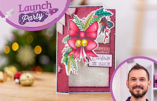 Launch Party - 6th July - NEW Subs Box #38, Floral Spray Stamp & Dies