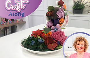 Craft Along - 7th April - Flower Forming Spring Collection