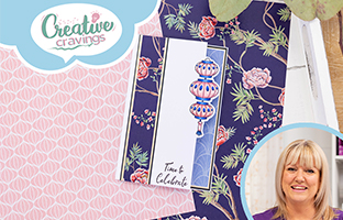 Creative Cravings - 7th July - Card Kit - Reversed Easels, Nature's Garden Chinoiserie & Layering Texture Stamps