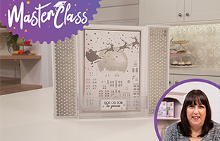 Master Class - 10th September - Embossing & Stenciling with Mixed Media