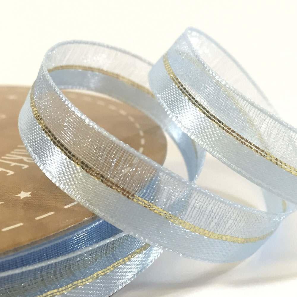 10mm Duo Shimmer Organza Ribbon