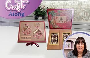 Craft Along - 11th September - Christmas Abstract CACD