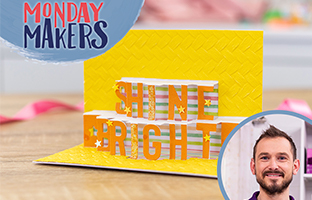 Monday Makers - 12th July - Cut In Numbers, Build a Bouquet & Letters From the Heart