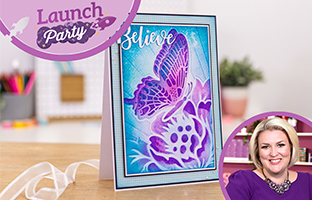 Launch Party - 12th Jan - 3D Folders & Stamps