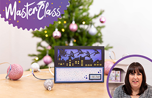 Masterclass - 13th July -Floral Spray Stamp and Dies - Christmas Brush Lettering Stamps and more