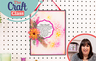 Craft Class - 14th March - Stamping 101, Third Party Inks & Tools, Sharon Callis