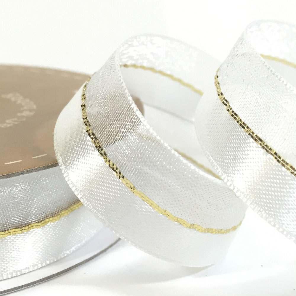 15mm Duo Shimmer Organza Ribbon