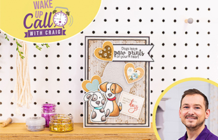 Wake Up Call with Craft Vault - 16th April