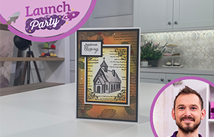 Launch Party - 17th August - Christmas Twist & Pop, Christmas Mini Collage Stamps
