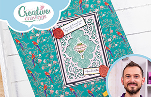 Creative Cravings - 18th August - Creative Cravings - Stamp & Dies, Nature's Garden Chinoiserie & Character Tags
