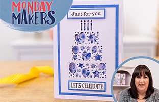 Monday Makers - 21st June -  Abstract Shape Stamps & Dies