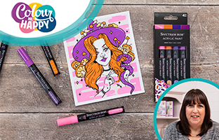 Colour Me Happy - 25th June - NEW Creative Expressions & Mixed Media