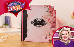 Launch Day - 26th Feb - NEW Memory Book Spine