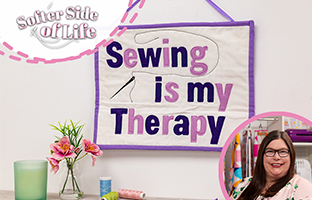 Softer Side Of Life - 26th September - Threaders Alphabet Dies