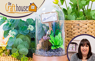 The Craft House - 27th March - NEW Sharon Callis Sensational Succulents